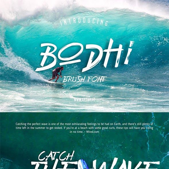 Bodhi Brush Font