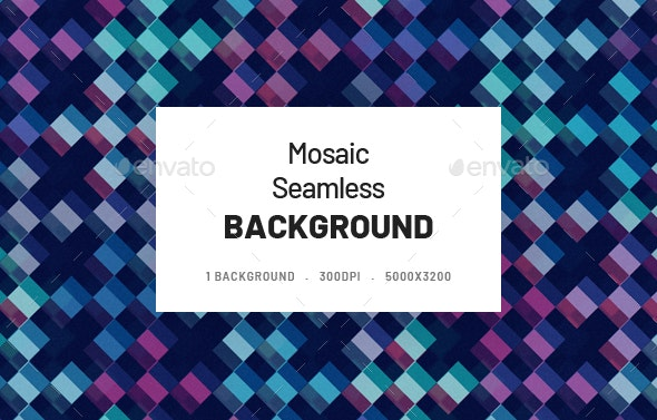 Mosaic Seamless Background - Backgrounds Graphics