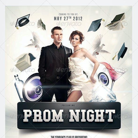 Graduation Prom Flyer