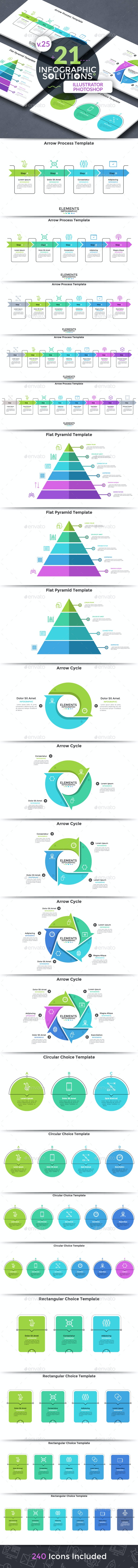 Infographic Solutions. Part 25 - Infographics
