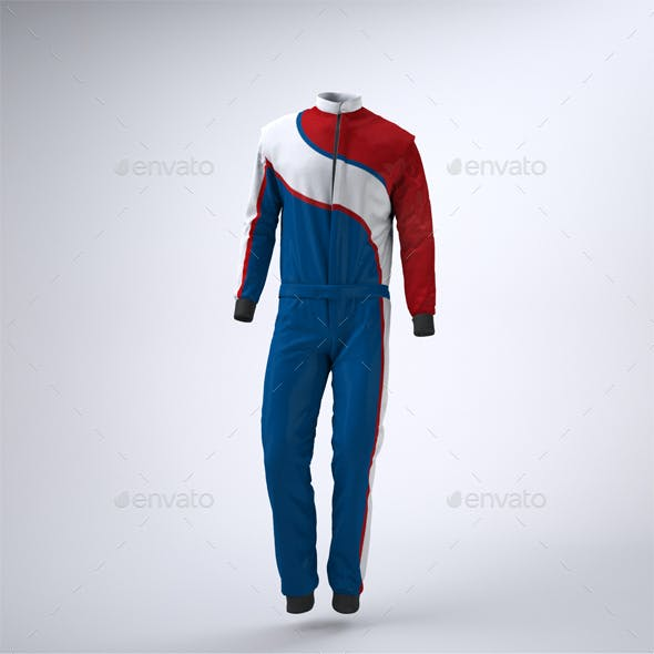 Driving, Racing Suit Mock-Up