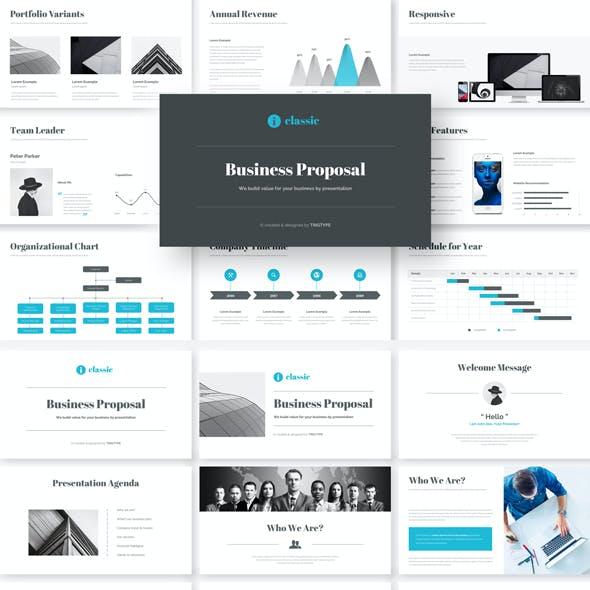 Business Google Slides Presentation Template
