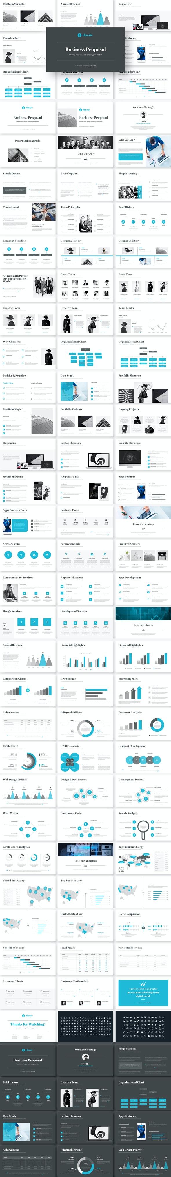 Business Google Slides Presentation Template - Google Slides Presentation Templates