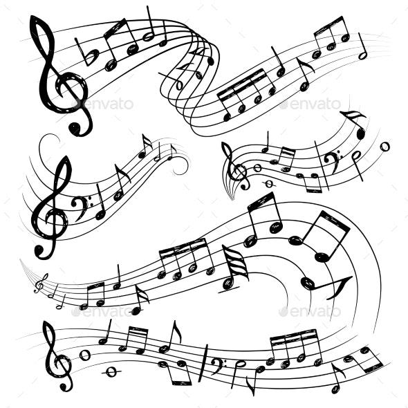 Orchestra Notes - Miscellaneous Vectors