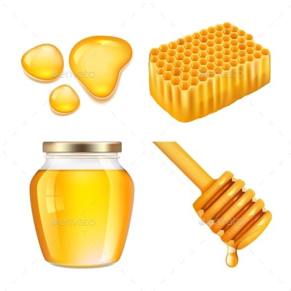 Honey - Food Objects