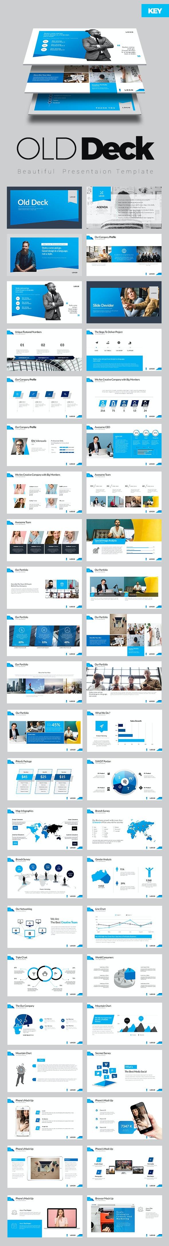 Old Deck Keynote Presentation - Keynote Templates Presentation Templates