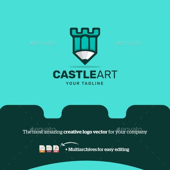 CastleArt Logo Vector