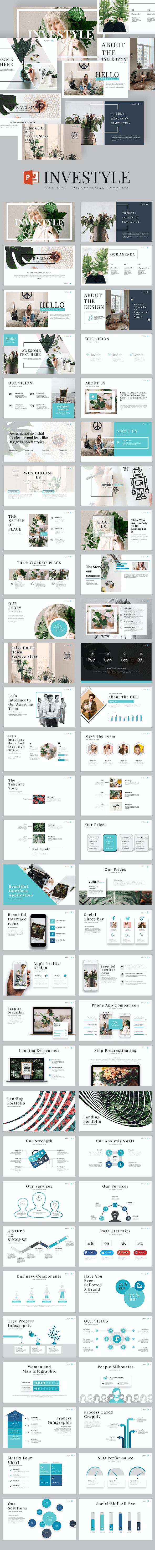 Investyle Powerpoint Presentation - Creative PowerPoint Templates
