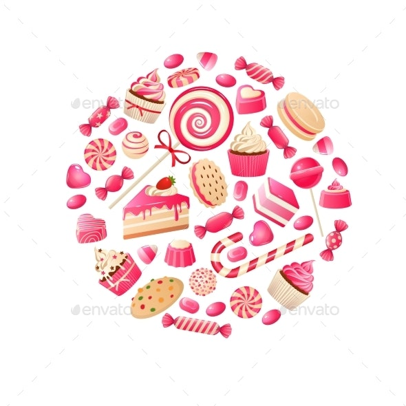 Sweet Candy - Food Objects