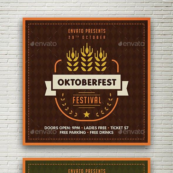 Oktoberfest Social Media Banner