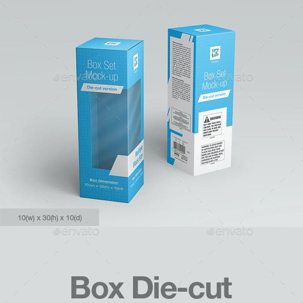 Box Die-cut Mock-up v1