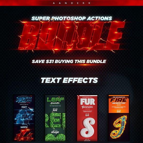 Super Photoshop Actions Bundle