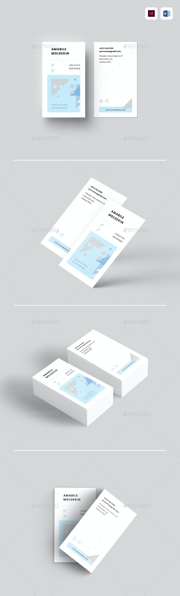 Business Card - Resumes Stationery