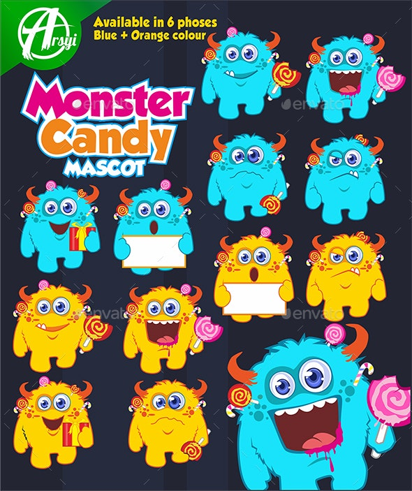 Monster Candy - Monsters Characters
