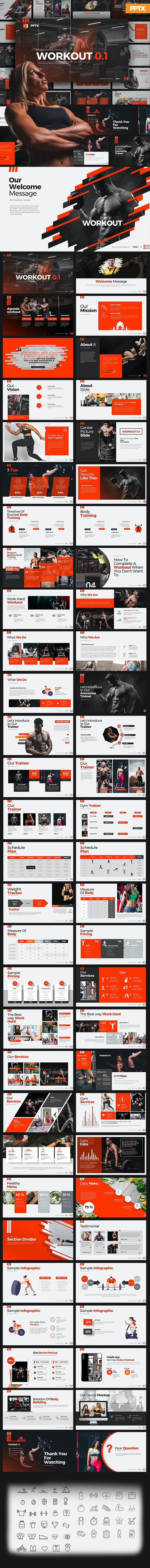 Workout 0.1 PowerPoint Presentation - Creative PowerPoint Templates