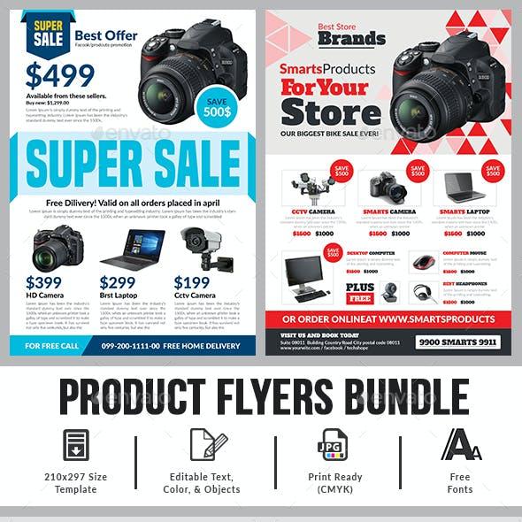 Product Flyer Bundle Templates