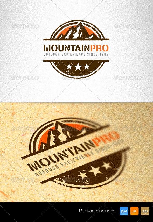 Mountain Pro Outdoor Creative Logo Template - Nature Logo Templates