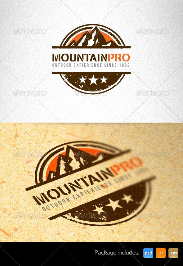 Mountain Pro Outdoor Creative Logo Template - Nature Logo Templates