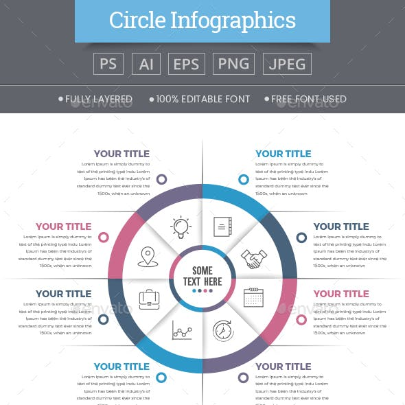 Business Circle Infographics