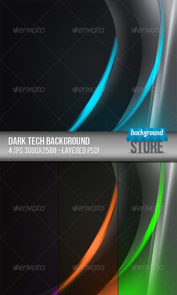 Dark Tech Background - Tech / Futuristic Backgrounds