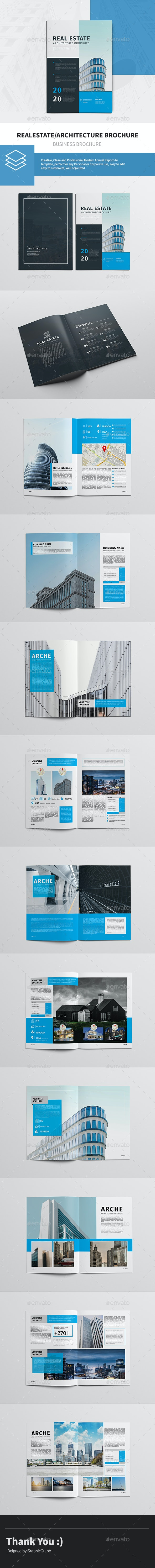 Realestate/Architecture Brochure - Corporate Brochures