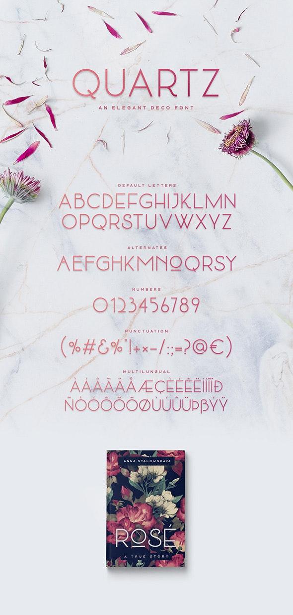 Quartz - Decorative Fonts