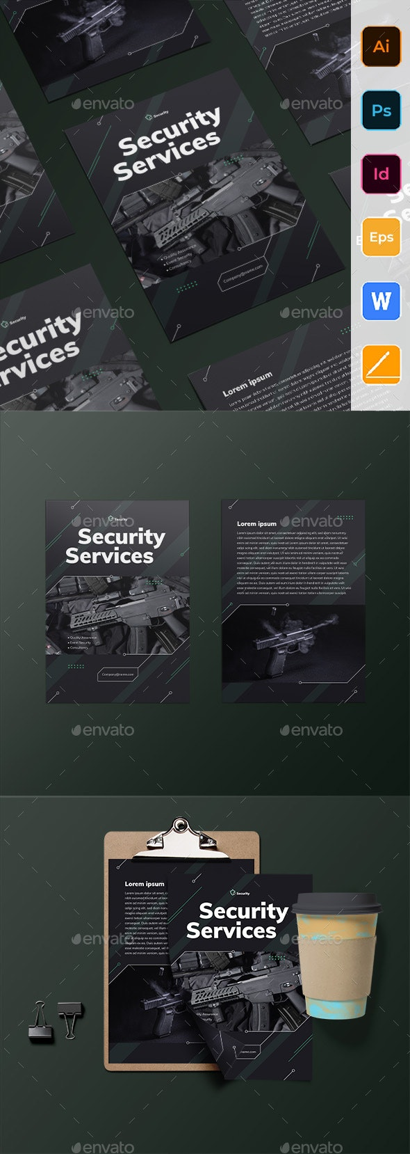 Security Services Flyer - Corporate Flyers