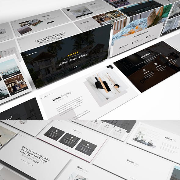Moxa Hotel Powerpoint Presentation Template