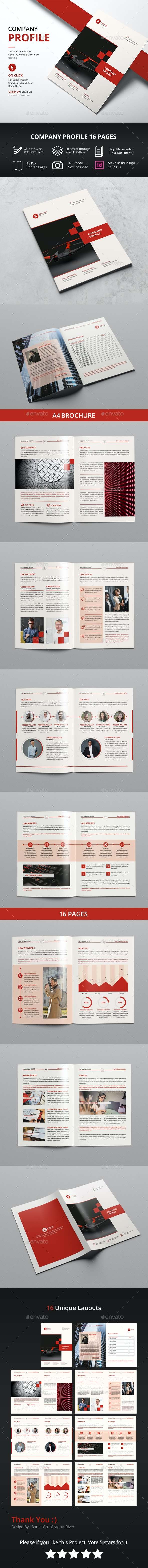 Red Company Profile - Corporate Brochures