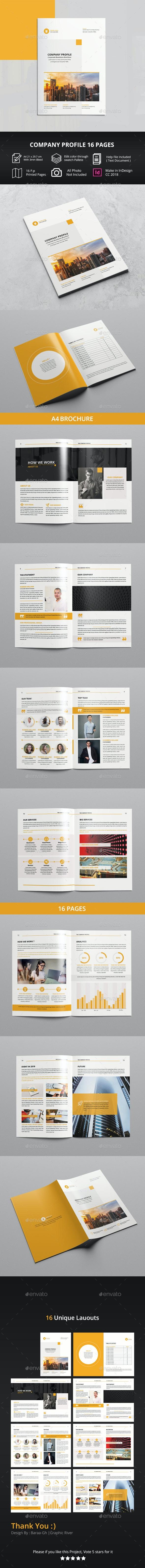 Company Profile 2019 - Corporate Brochures