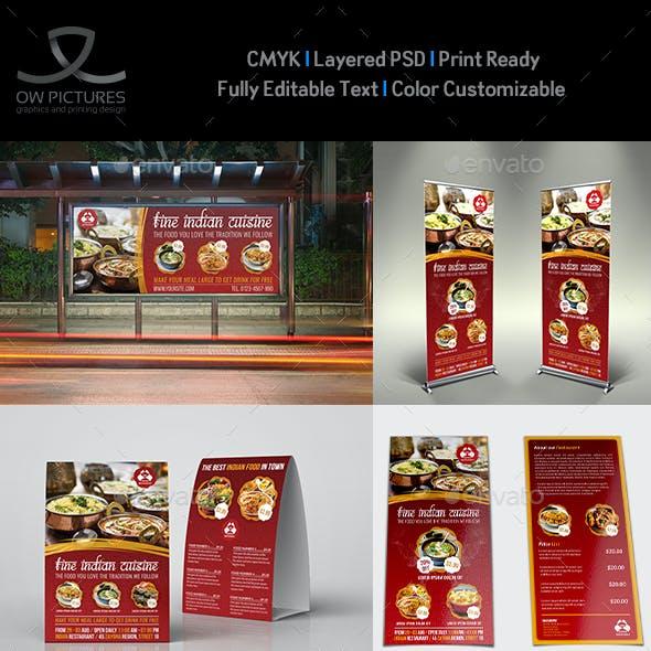 Indian Restaurant Advertising Bundle Vol.2