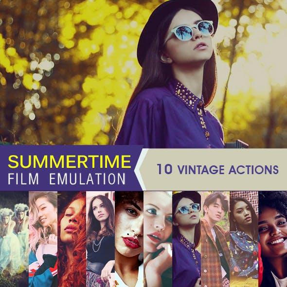 HQ Film Emulation Actions II