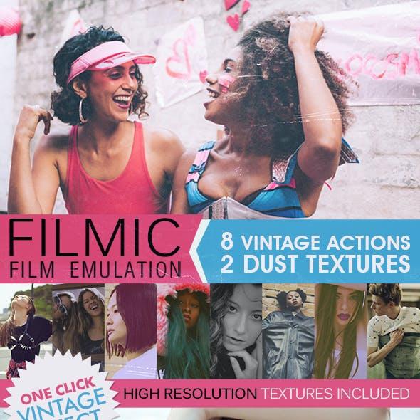 HQ Film Emulation Actions III