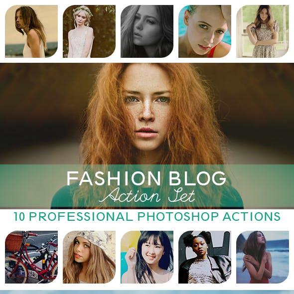 10 PRO Photoshop Actions Vol.I