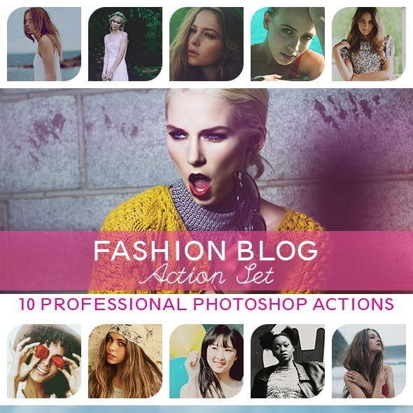 10 PRO Photoshop Actions Vol.II