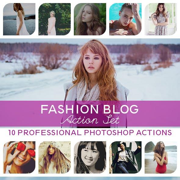 10 PRO Photoshop Actions Vol.III