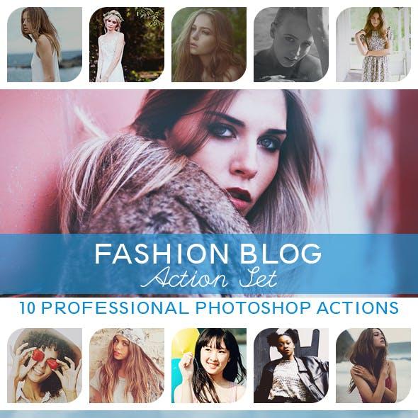 10 PRO Photoshop Actions Vol.IV