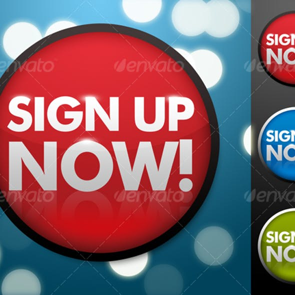 Sign Up Now Button in 3 Colors