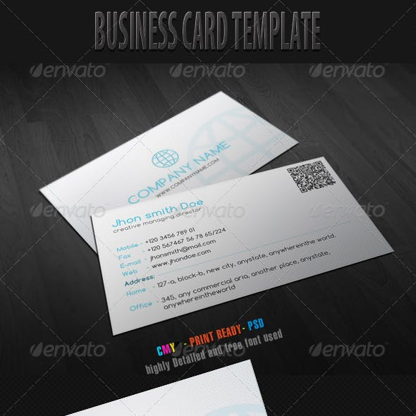 Business Card Template 1