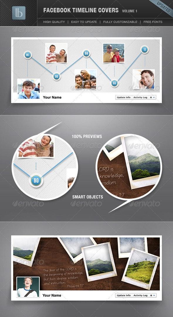 Facebook Timeline Cover | Volume 1 - Facebook Timeline Covers Social Media