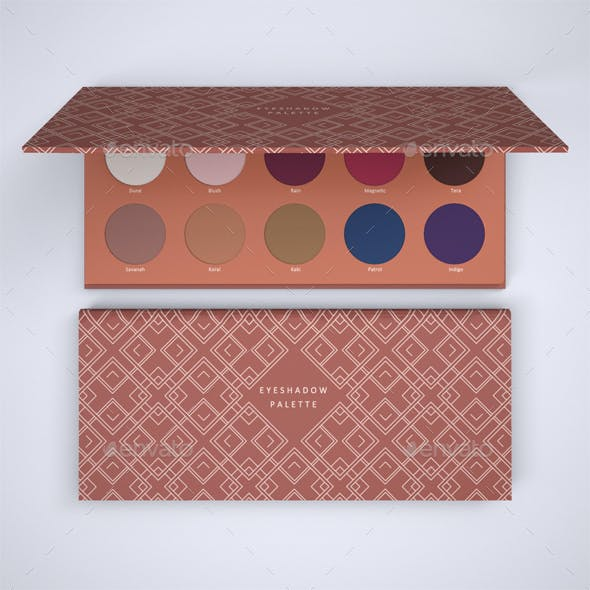 Eyeshadow Palette Mock-up