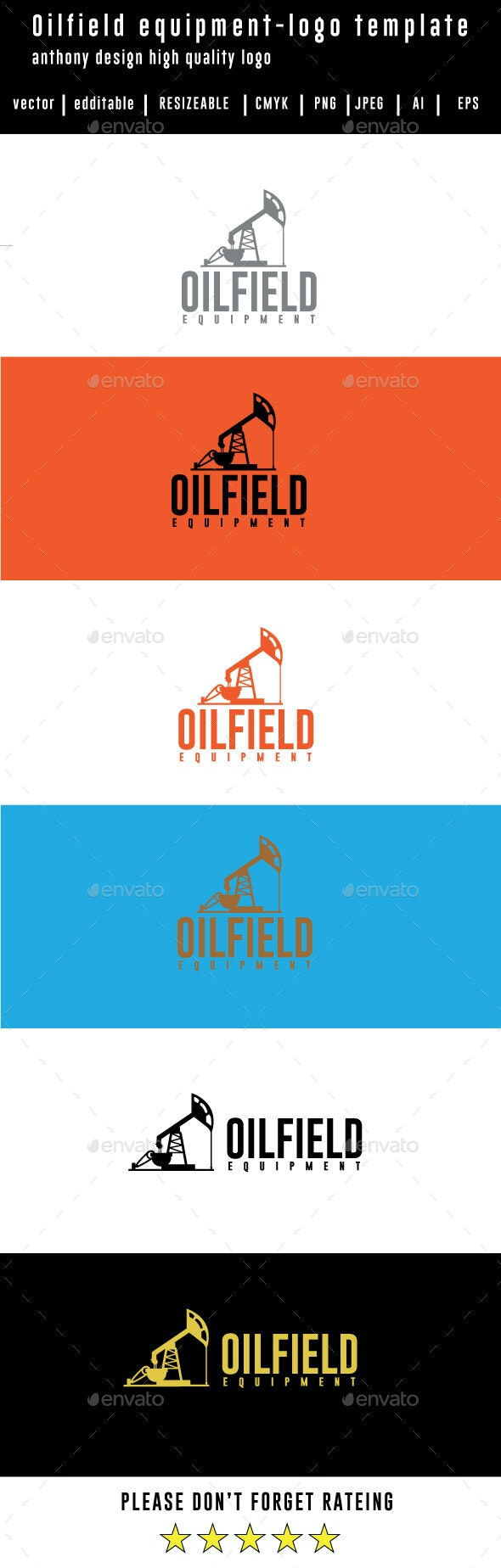 Oilfield-equipment-Logo Template - Logo Templates