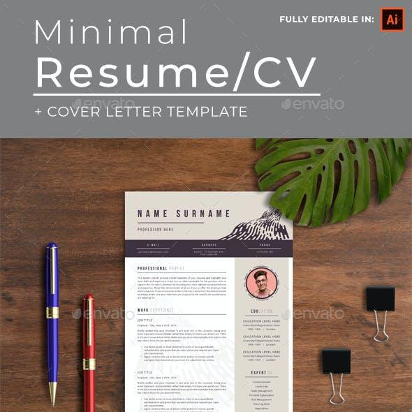 Minimal Resume/CV