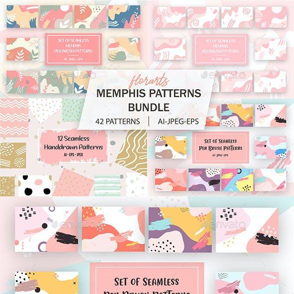 42 Memphis Patterns Bundle