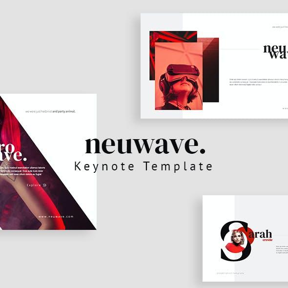 Neuwave Keynote Template