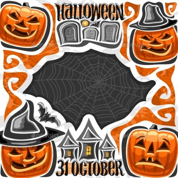Vector Poster for Halloween - Halloween Seasons/Holidays