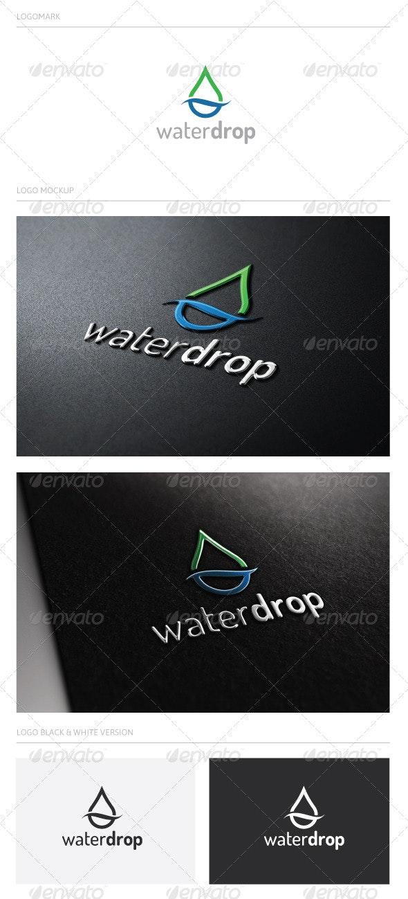 waterdrop - Nature Logo Templates