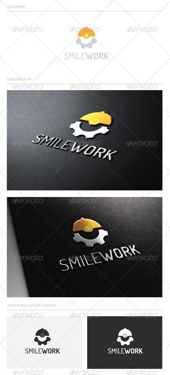 SMILE WORK - Humans Logo Templates