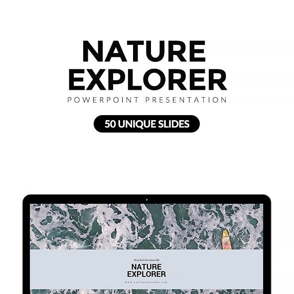 Nature Explorer Keynote Template