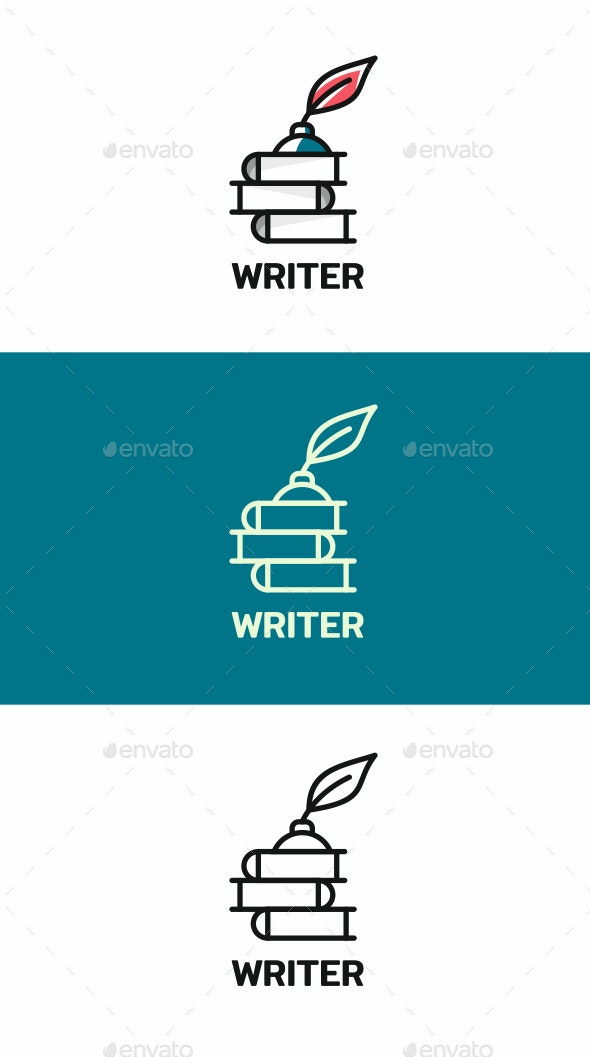 Writer - Objects Logo Templates